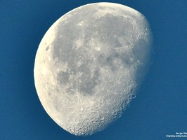 Moon in Gran Canaria - Free photo - 2015 04 09